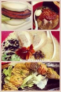 Bao, Spicy ramen, ramen, ox tongue