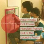 How I Finally Got Those Mandarin Posters Out of the Laundry Room