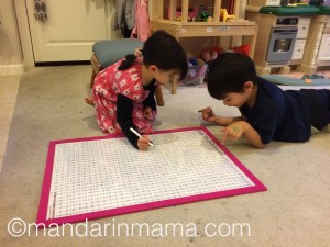 Kids using Mandarin Poster 2