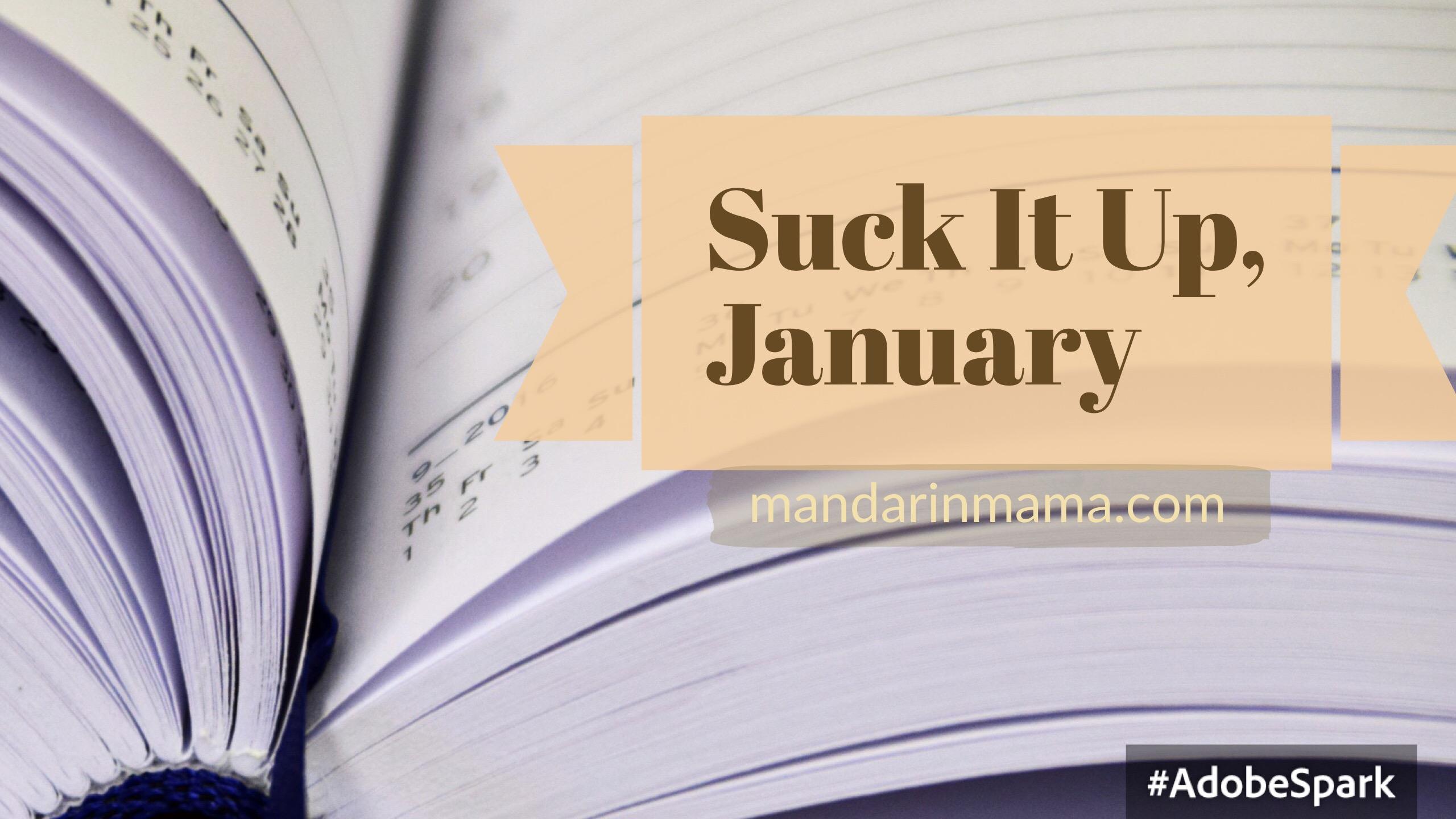 Suck It Up, January