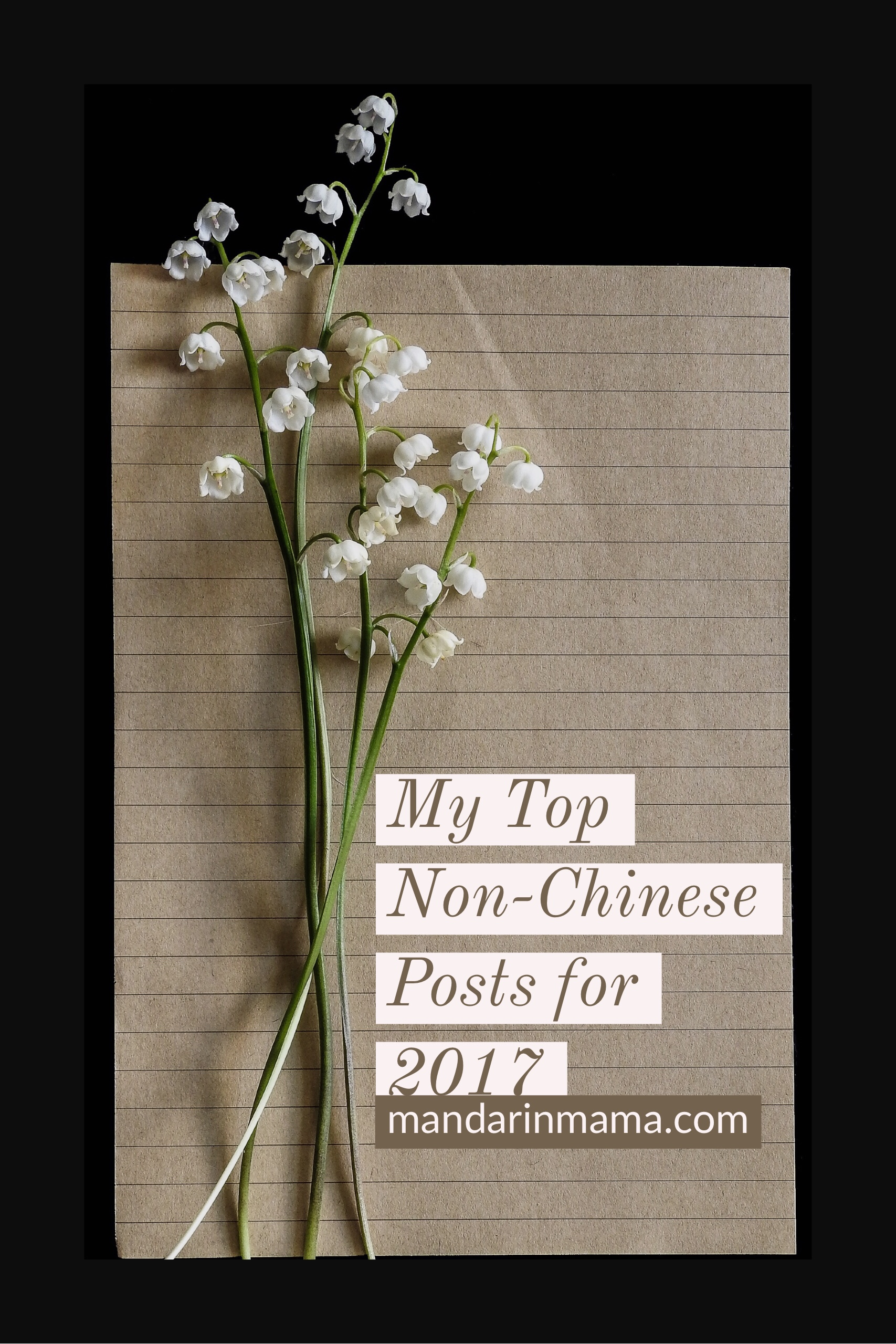 My Top Non-Chinese Posts for 2017