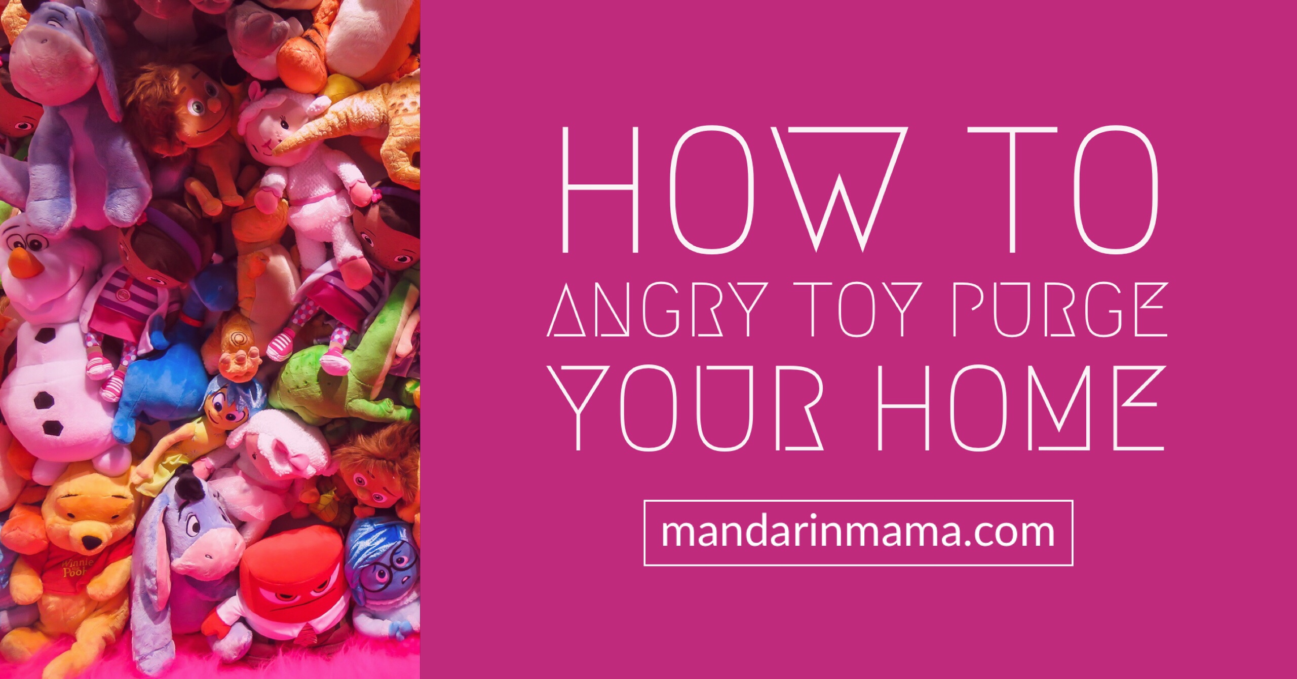 How to Angry Toy Purge Your Home