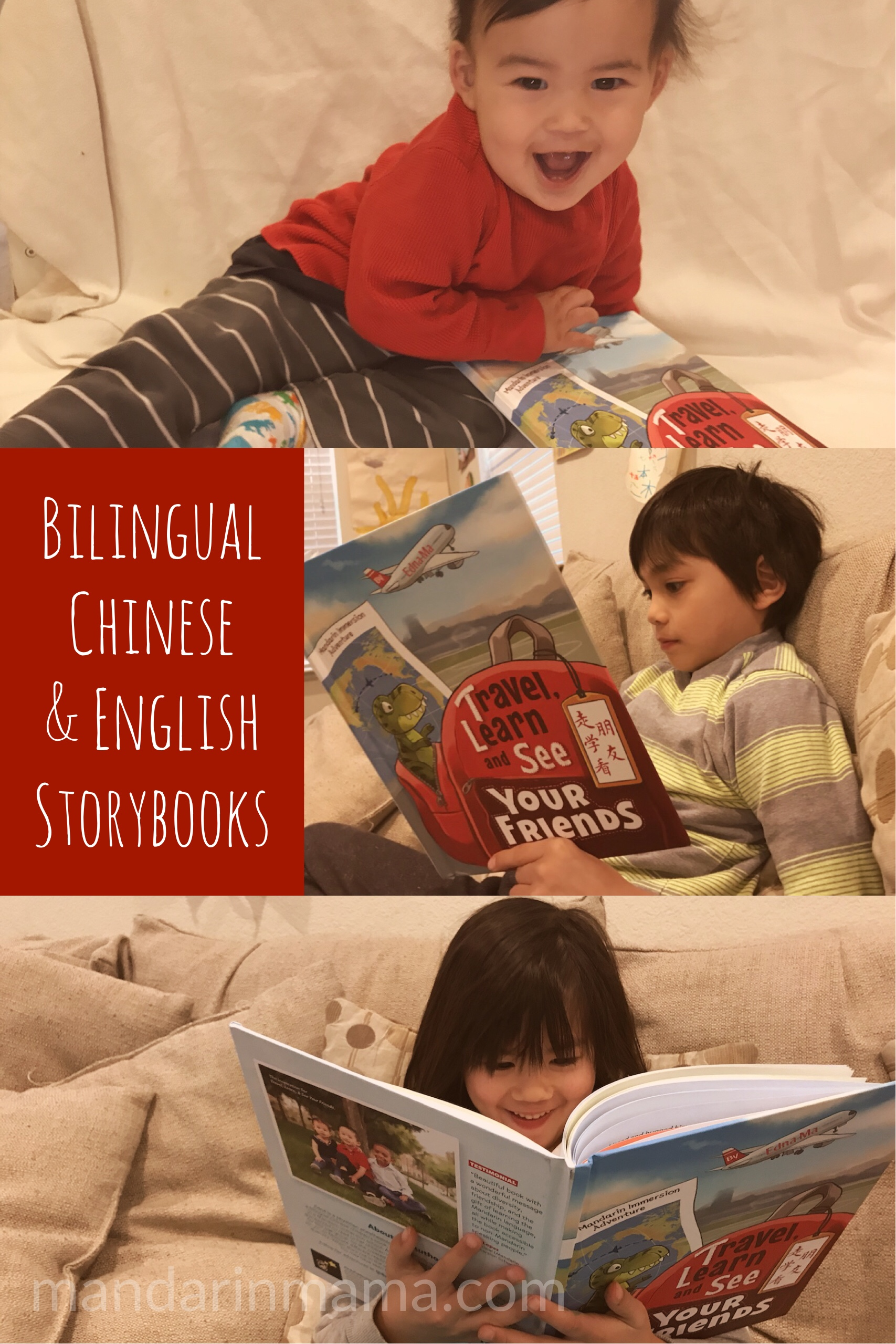 Bilingual Chinese and English Storybooks