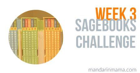 Sagebooks Challenge: Week 3