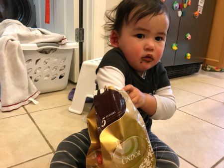 toddler chocolate