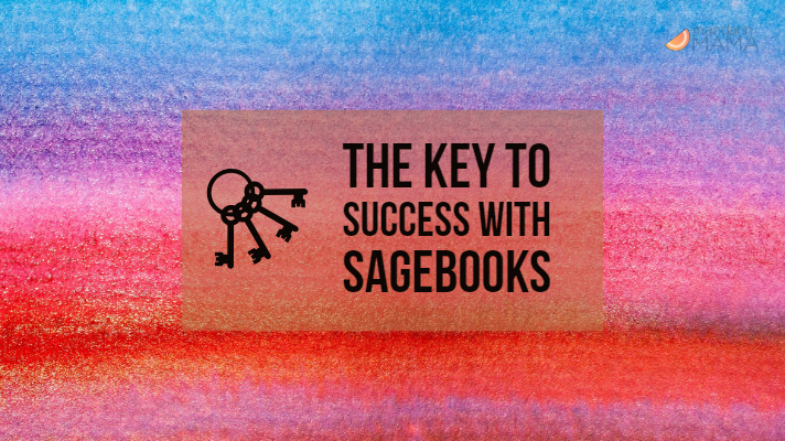 The Key to Success with Sagebooks