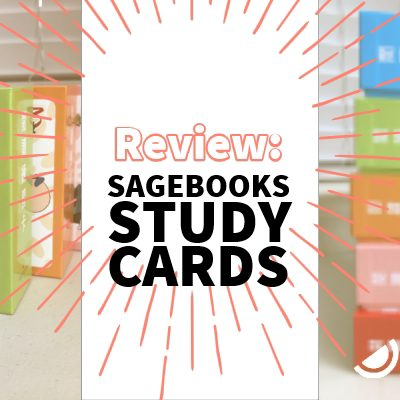 Review: Sagebooks Basic Chinese 500 Study Cards