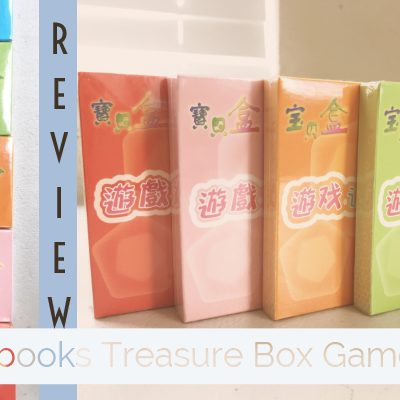 Review: Sagebooks Treasure Box Game Cards