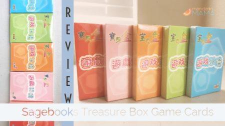 Review: Sagebooks Treasure Box Game Cards