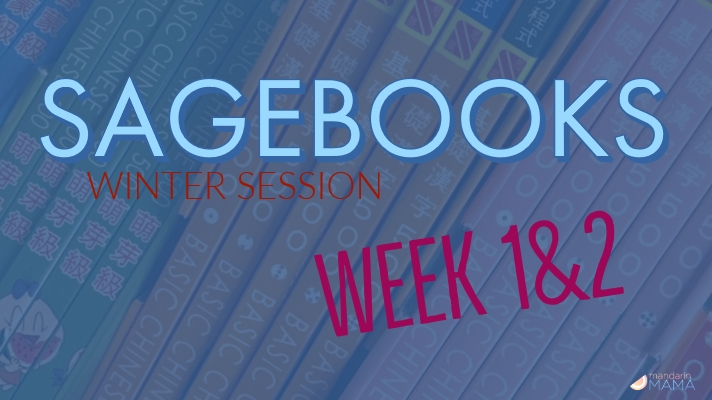 Sagebooks Winter Session: Weeks 1&2