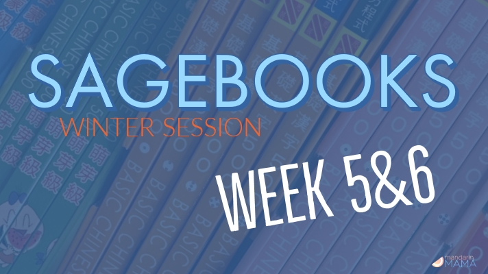 Sagebooks Winter Session: Weeks 5&6