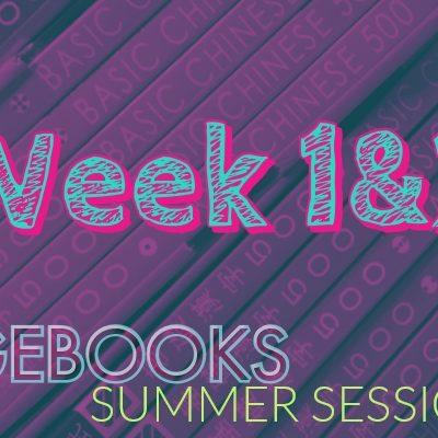 Sagebooks Summer 2019 Session: Week 1&2