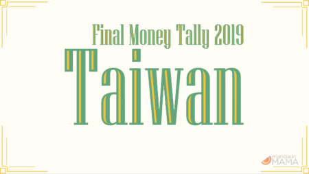 Final Money Tally for Taiwan Trip 2019