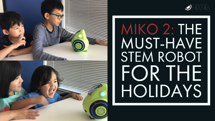Miko 2: The Must-Have STEM Robot for the Holidays