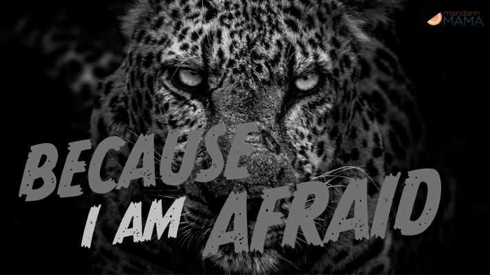 Because I Am Afraid